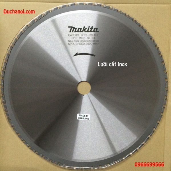 Lưỡi cắt Inox Makita A-87242