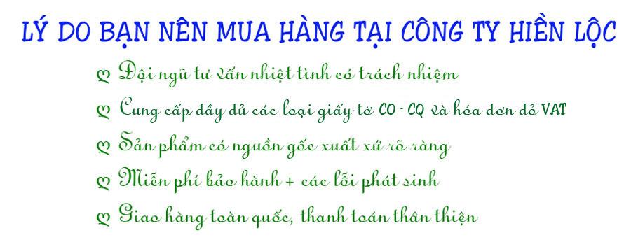 Cam kết công ty Hiền Lộc