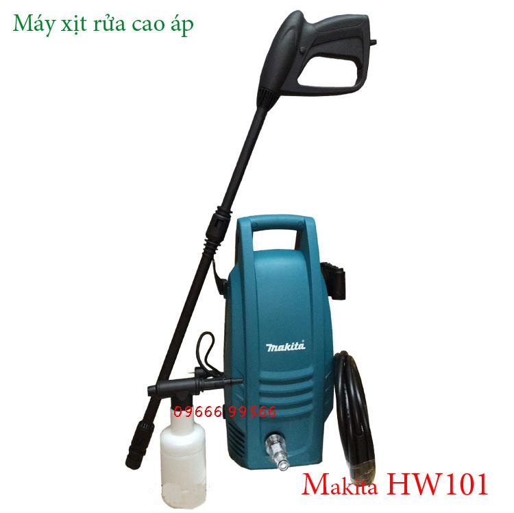 Máy xịt rửa cao áp Makita HW101
