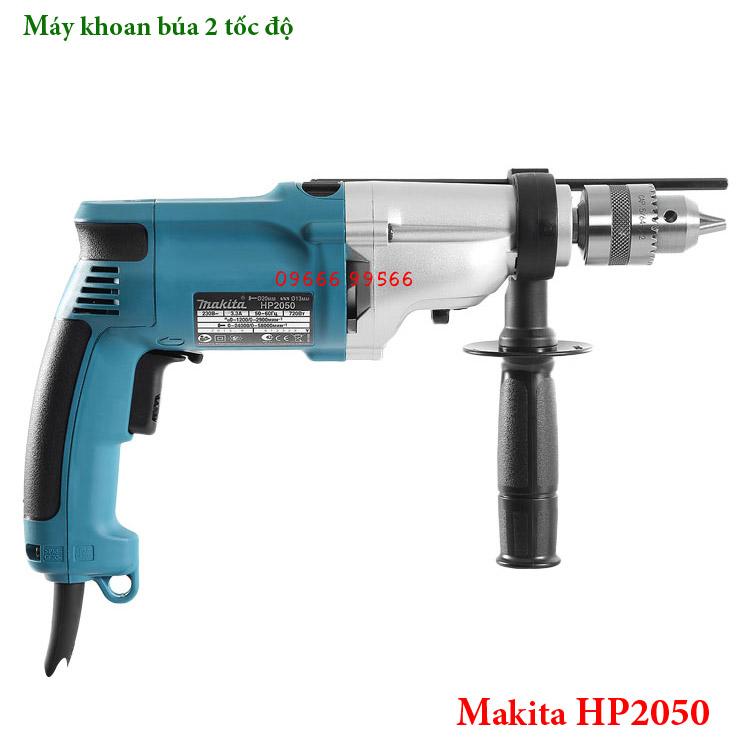 Máy khoan búa 2 tốc độ Makita HP2050