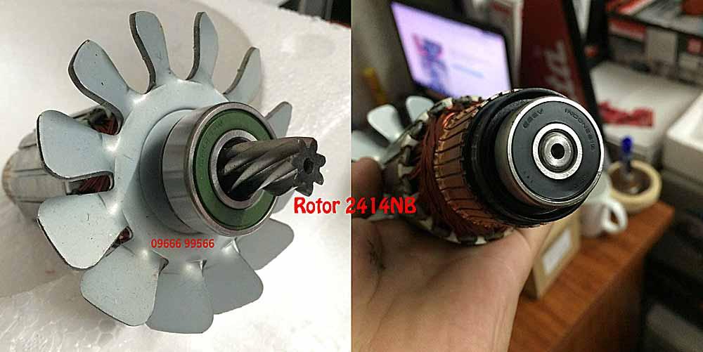 Rotor máy cắt sắt Makita 2414NB
