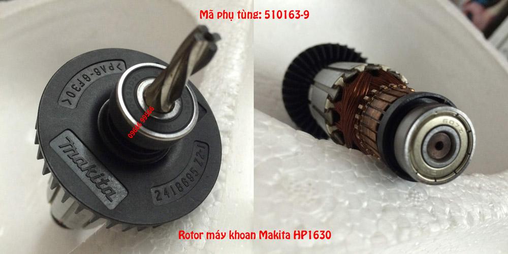 Ảnh thực tế rotor Makita HP1630