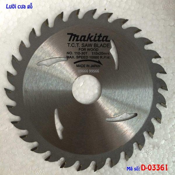 Lưỡi cắt gỗ Makita D-03361