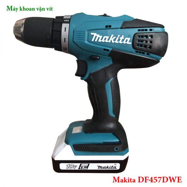 Máy khoan vặn vít Makita DF457DWE